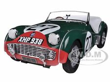 TRIUMPH TR3S 1959 LEMANS #27 1/18 DIECAST CAR MODEL BY KYOSHO 08033C