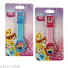 NEW DISNEY PRINCESS LCD WATCH CHILDRENS TIME PIECE PRINCESSES (MC)