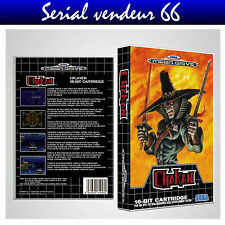 "BOX, CASE ""CHAKAN"". Megadrive. BOX + COVER PRINTED. NO GAME. MULTILINGUAL."