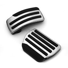 Car Front Foot Pedal Pad Fuel Brake AT Covers for Nissan Qashqai X-Trail 10-13