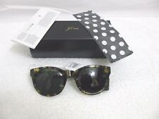J CREW SAM SUNGLASSES #E3726 IN TORTOISE  NEW WITH BOX