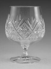 """Cristal d'édimbourg - Renaissance cut-BRANDY verres - 4 3/8 """""""