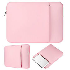 "Pink Laptop Sleeve Carry Bag Case Pouch For 13.3"" Apple Macbook Air Pro Retina"