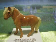 Hagen Renaker Horse Shetland Pony Stallion Figurine Miniature 3065 FREE SHIP new