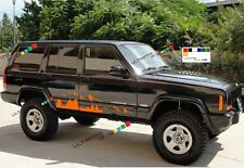 Decal sticker for Jeep Cherokee sport mountain off shocks road safari upgrade v8