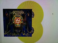 Anthrax - For all Kings  Limited 2 Yellow Vinyl LP 300 worldwide  NEW NEU