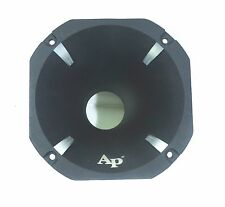 "Audiopipe 6"" Octagon High Frequency Aluminum Horn for 2"" Bolt On Exit Drivers"
