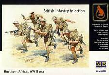 Masterbox British Infantry in action North Africa  Afrika Figuren 1:35 Bausatz