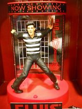 Christmas Ornament Elvis Jailhouse Rock Musical lights up Centerpiece Stage New