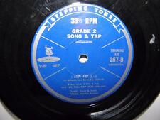 STEPPING TONES Grade 2 Song & Tap _ 33-1/3 rpm Training Aid 267-B _ TM Rec 1937