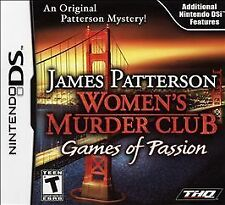 James Patterson Women's Murder Club Games of Passion (Nintendo DS) - CART ONLY