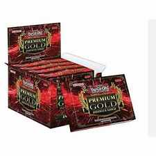 5X YUGIOH PREMIUM GOLD  3 INFINITE  BOOSTER PACK  BOX 15 CARDS NEW FOR 2016