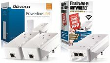 Devolo 9395z Powerline dlan 2 X 1200 + con 1 X 1200 + Wifi Triple Adaptador n/w Kit