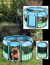 Pet Playpen Tent Portable Exercise Kennel Soft Pen Puppy Dog Cat In Outdoor
