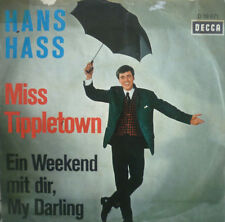 "7"" 1965 RARE IN VG+++ ! HANS HASS : Miss Tippletown"