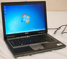 "LAPTOP DELL D630!! CORE2DUO @ 2 GHZ! 160 GB HD 3 gb ram  14"" LCD WIFI WIN7 COM1"