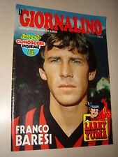 IL GIORNALINO=1980/4=FRANCO BARESI INTERVISTA + POSTER=GOLDRAKE=VITO ANTUONFERMO