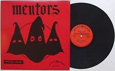 Mentors - Live At The Whisky/Cathay De Grande LP El Duce GG Allin Scum Rock Punk
