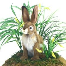 Blacktailed Jack Rabbit Hansa 5911 Bunny Heirloom Quality Stuffed Animal