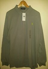 Quality GENUINE Polo Ralph Lauren Mens Grey XXL Great Top Shirt SAVE £52.00! WOW