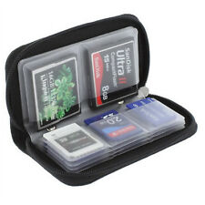 Memory Card Storage Carrying Case Holder Wallet for CF/SD/SDHC/MS/DS 3DS Game