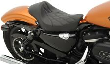Drag Specialties Solo Seat Diamond Stitch Harley Sportster XL 48 72 Iron 10-16