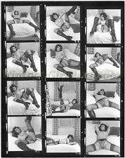 VMG47A Vintage Erotic Nude Art Warland Proof Sheet Photo 8x10 British KIM WESLEY