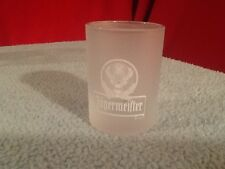 Jaegermeister  Frosted Shot glass Vintage