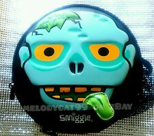SMIGGLE Kids Boy DOUBLE DECKER HARDTOP Insulated Lunch Box Lunchbox Wacky Zombie
