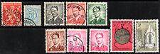 stamps BELGIUM A90 A108 A111(6) A207 A237 LOT