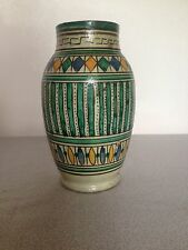 Antique North African Pottery Medicine Jar