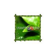 Stickers déco bambou Coccinelle 30x30cm 5220