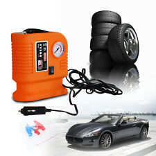 300 PSI DC 12V Car Pump Auto Portable Tire Inflator Mini Air Compressor Set Kits
