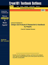 Design And Analysis, Keppel and Wickens, 4th Edition, Very Good, Paperback