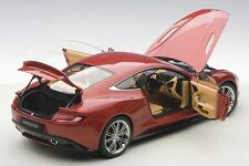 Autoart Aston Martin Vanquish VOLCANO RED Composite Model 1/18 Scale In Stock!