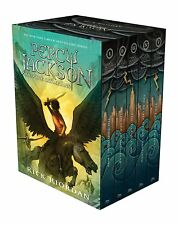 Percy Jackson and the Olympians Hardcover Boxed Set New  PING