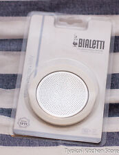 Bialetti 10 Cup Seal Filter Kit Coffee Venus Musa Kitty Stainless Steel