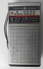General Electric TV Sound AM/FM TV Transistor Radio Model 7-2924A