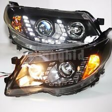 For Subaru Forester LED Headlights Projector Lens Lamps 2008 to 2012 Year PW