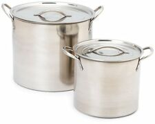 Imusa Stainless Steel Stock Pot, 20 Quart, New, Free Shipping
