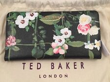 Ted Baker Secret Trellis Xhatch Matinee Purse Black With Ted Dust Bag