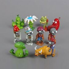 10PCS/Set Plants vs. Zombies 2 Series PVC Action Figure Model Toy Decoration