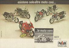 X9533 POLISTIL - Esistono solo altre moto così... - Pubblicità 1976 - Advertis.