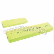 2 x 1100mah 7/5 F6 1.2V NIMH NH-14WM Gumstick Rechargeable Battery CD MD HI-MD