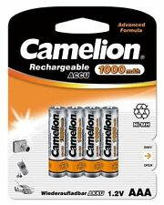 4 x AAA Micro Ni-MH Batterie CAMELION 1,2 v 1000 MAH pour siemens gigaset a58h mobile