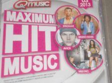 MAXIMUM HIT MUSIC (Q Music) 03 2013 Stromae, Avicii, Maitre Gims, Bruno Mars....