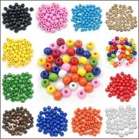 500Pcs  Rondelle Wood Spacer Loose Beads 4mm For DIY Jewelry Findings ,12Colors
