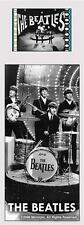 THE BEATLES 60's Pop Rock and  Roll Band MUSIC FILM CELL and PHOTO BOOKMARK New