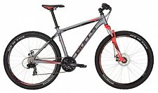 "Bulls Wildtail Disc27,5""  / 51 cm grau / rot 2017 Mountainbike Shimano 21 Gang"
