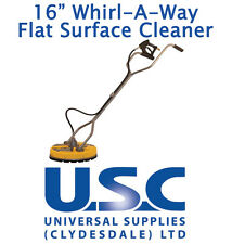 "BE Whirlaway 16"" Rotary Flat Surface Cleaner Pressure Washer Power Cleaning"